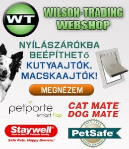 Wilson-Tradig PetSafe kisállat ajtók